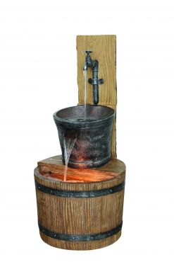 Mooie Oak Barrel with Tap kopen
