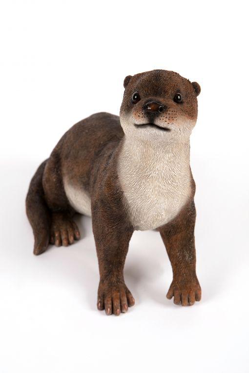 Mooie staande  Otter tuinbeeld kopen