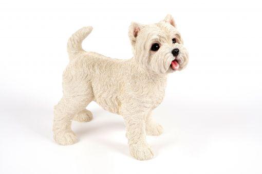 Mooie staande  West Highland Terrier tuinbeeld kopen