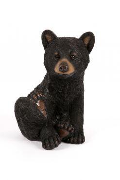 Mooie zittende zwarte  beer welp kopen
