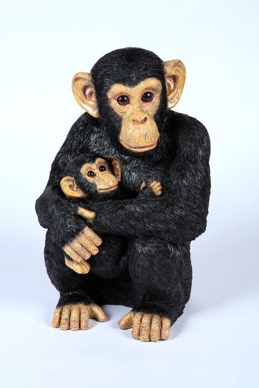 Mooie Chimpansee jong tuinbeeld kopen